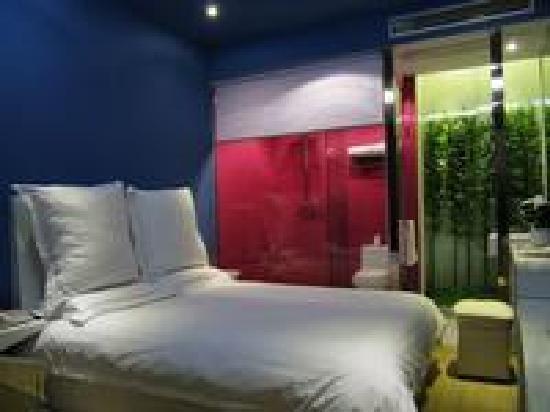 Weike Jiari Hotel : 一进门看到的