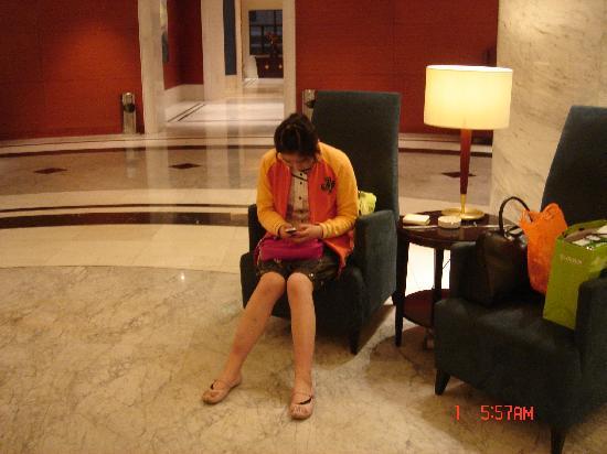 Jinjiang MetroPolo Hotel Shanghai Tongji University: 大厅