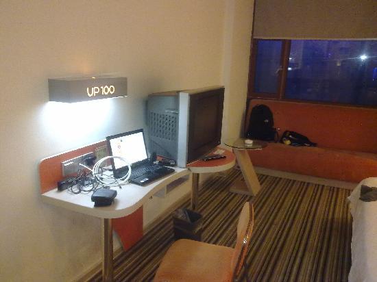 U Pin 100 Hotel: 网络电视沙发