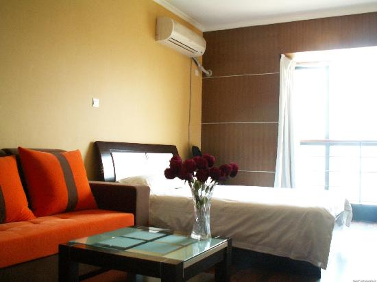 365 Service Apartment Hotel (Nanjing Zhujiang Road Regent International): 家的感觉