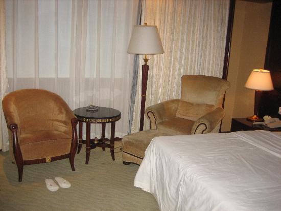 New Century Hotel: 休闲区