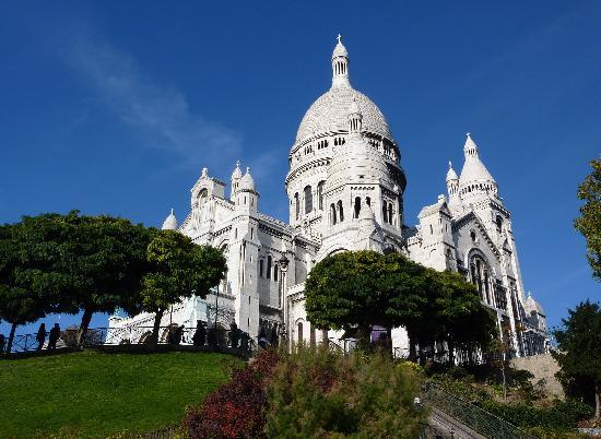 París, Francia: 漂亮的圣心大教堂