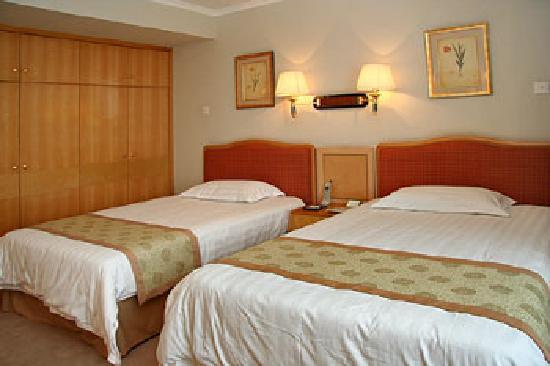 Jin Wan Hotel: 商务套件,外面还有个客厅。