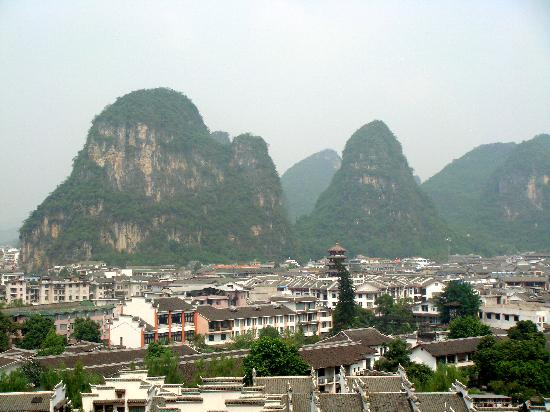 Yangshuo Sunvalley Hotel: view