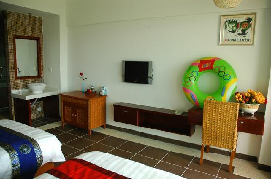 Rujia Seascape Hotel Sanya Yefeng Haiyun: 双人房