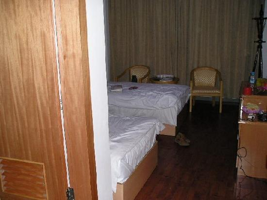 Chengdu Garden Hotel: 凌乱的房间