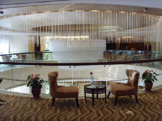 Jiuhua Hotel: 酒店的休闲厅