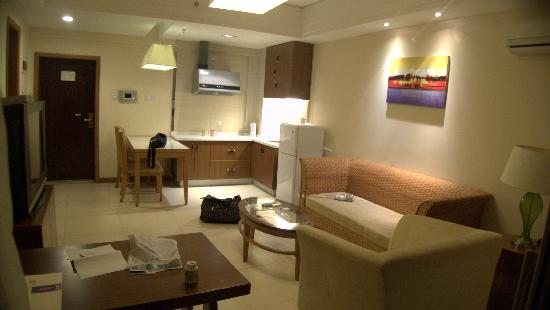 Huating Seaview Hotel: 房间客厅全景