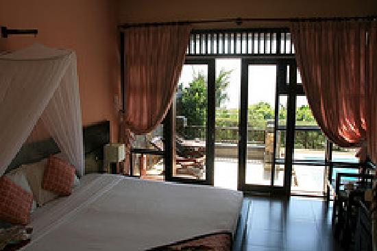 Romana Resort & Spa: view of our room