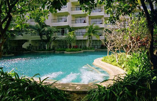 Sheraton Sanya Resort: 酒店内泳池,不止一个