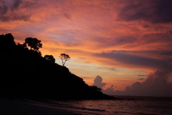 Malezya: 日出时的海滩
