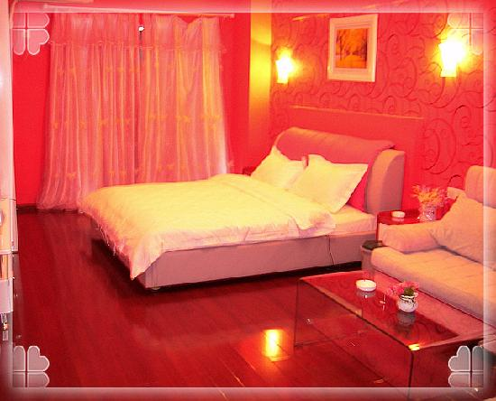 2599 Love Theme Apartment Walking Street Xinqingnian: 推荐这个