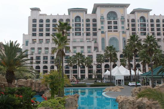 Lotte Hotel Jeju: 后花园