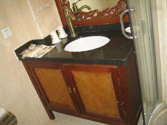 Super 8 Hotel Beijing Tian He Sheng Yu Quan Road: 洗手间