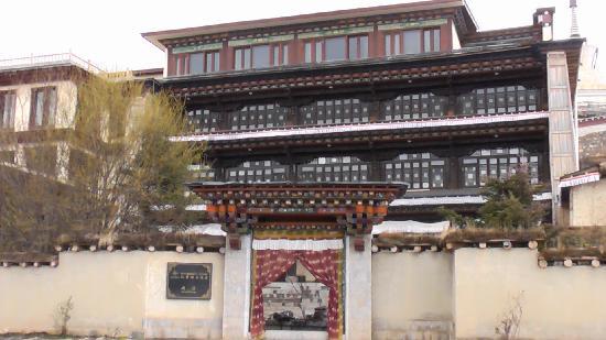 Songtsam Shangri-la (Lugu) Hotel: 酒店外景