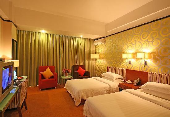 Zhongyou Hotel Haidian: 客房内部