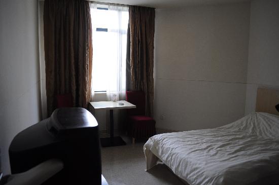 7 Days Inn (Shanghai Songjiang): 床很软
