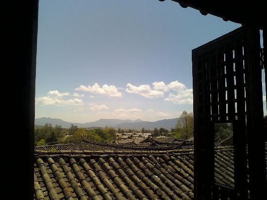 Lijiang Naman Mansion Hotel : 从房间的窗口望出去