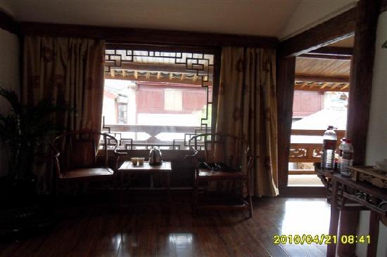Qingxi Inn: 房间一角