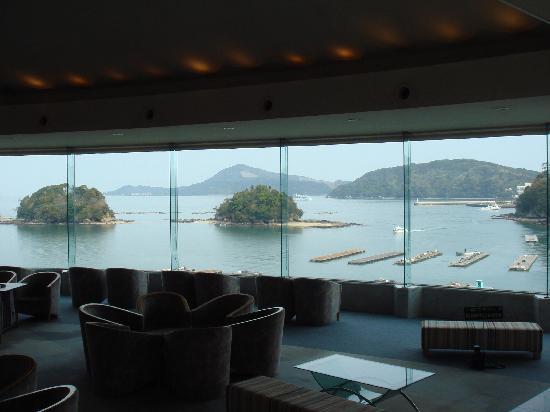 Toba Grand Hotel: 风景绝佳的大厅