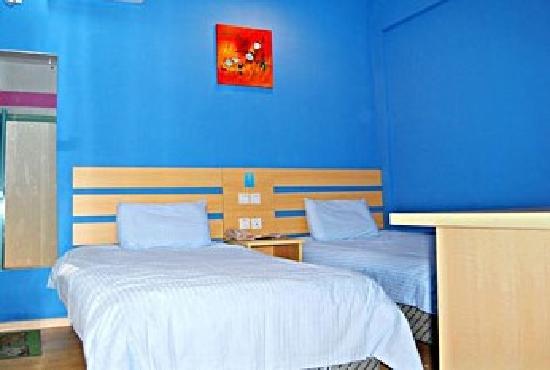 Beautel Guanggu Shangdu Hotel : 双床房~装修还行