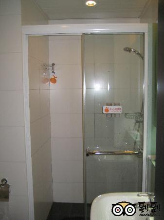 Orange Hotel (Beijing Jinsong Bridge West): 浴室也很干净