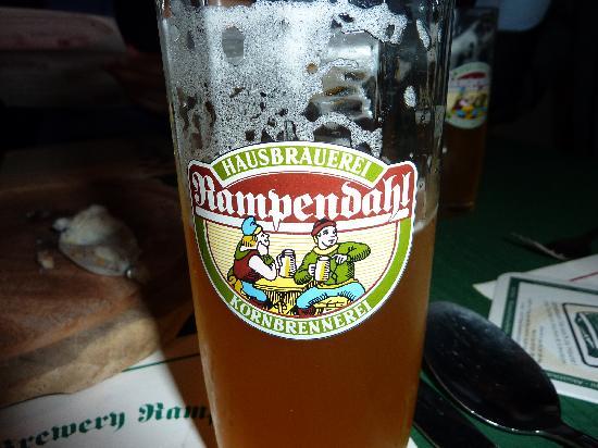 Rampendahl Hausbrauerei : 鲜美的啤酒
