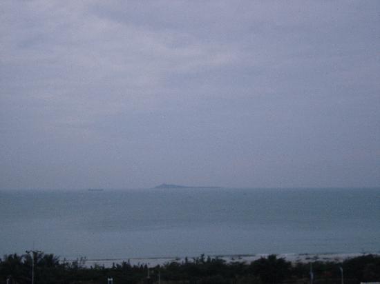 Mocha Time Seaview Hostel: 早晨从房间的凉台看出去的景色