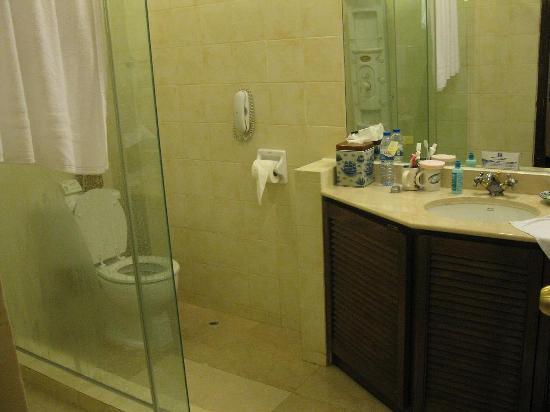 Pousada de Mong-Ha: 干净的厕所