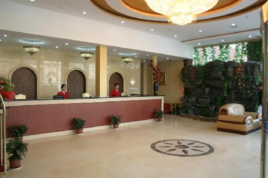 Beijing Longquanhu Hotel : 大堂的照片哦  (*^__^*) 嘻嘻……  不错吧!!