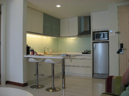 Fraser Place Kuala Lumpur: 厨房