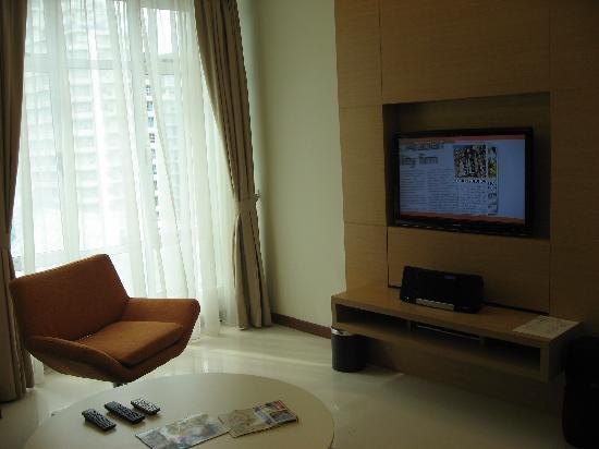 Fraser Place Kuala Lumpur: 客厅1