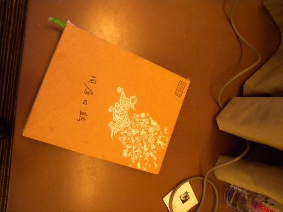City Inn (Shenzhen Chuangyiyuan ) : 古色古香的日志本,都是过往访客写的,挺有意思