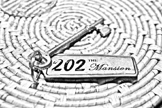 The Mansion: 古朴的房间钥匙