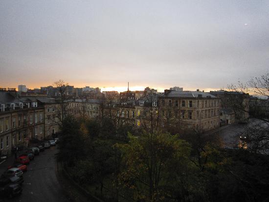 Dreamhouse Apartments Glasgow Lynedoch: 客厅外景