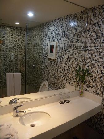 City Inn (Shenzhen Chuangyiyuan ) : 洗手间还不错,很有现代感