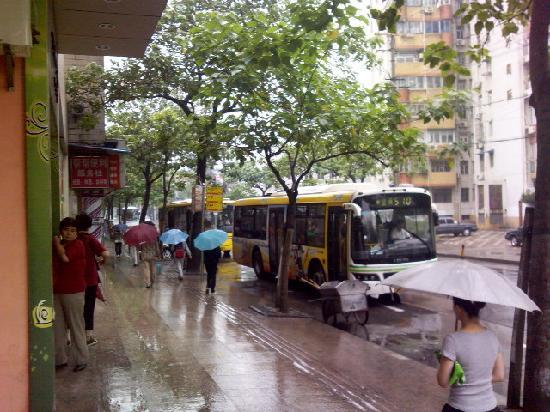 7 Days Inn Shanghai Yichuan Road : 酒店外景