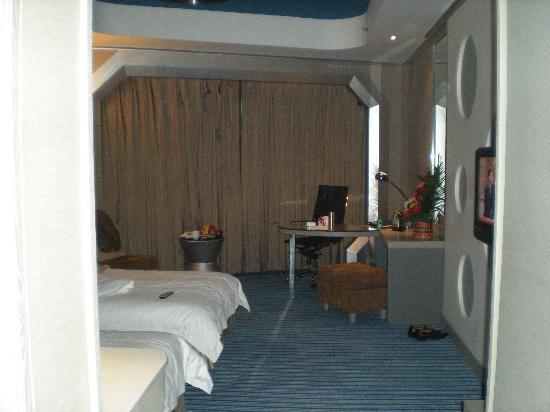7 Days Premium Luoyang Wanda Plaza: 这是我上网的地方,