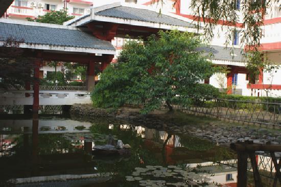 Century Land Hotel Wuyishan: 酒店花园