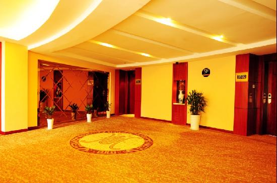 Wuyue Scenic Hotel Wuyuan : 电梯口