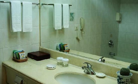 Zhejiang Oriental Hotel : 卫生间