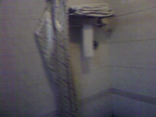 Tianzhuushan Resort : 卫生间浴缸上一角