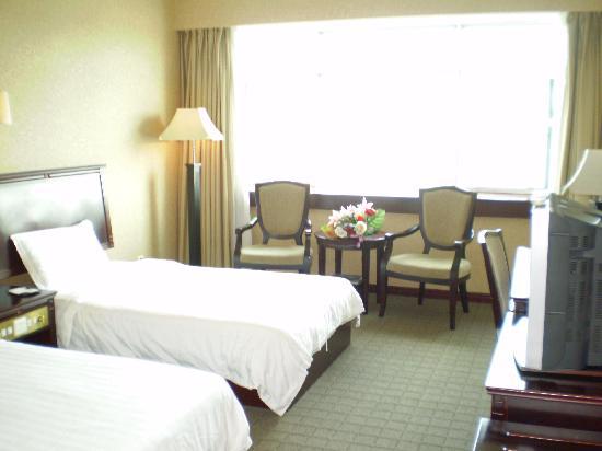 Jiang Bin Holiday Hotel: 江景,市景双人房