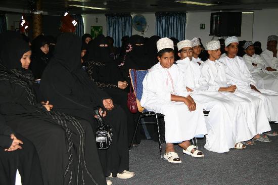 Oman: 黑白分明