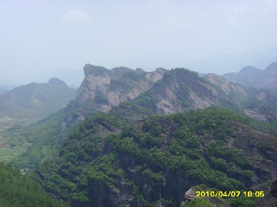 Liancheng County, China: 雾里看山