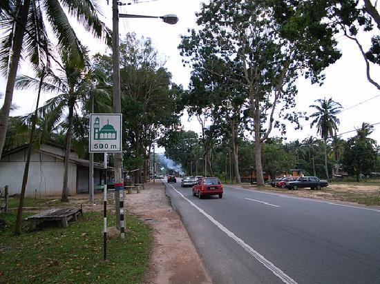 Тренгану, Малайзия: 去当地机场的沿途