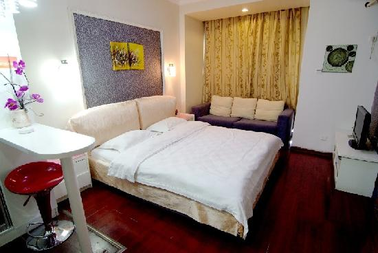 2599 Love Theme Apartment Walking Street Xinqingnian: 2599主题酒店—新青年商务水床