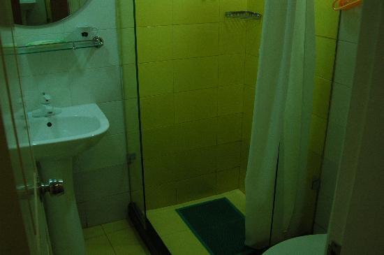 Jinjiang Inn Shanghai Huamu: 卫生间