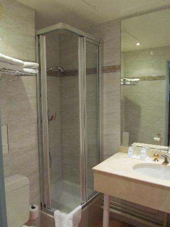 Mercure Paris Gare Du Nord La Fayette : 小得可怜的淋浴间