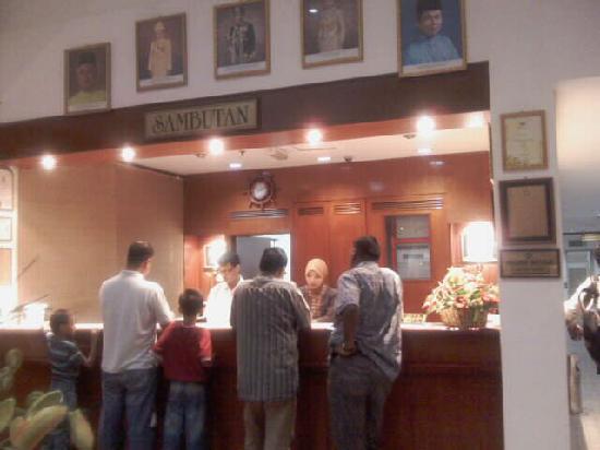Seri Malaysia Hotel Kuala Terengganu: 登记台